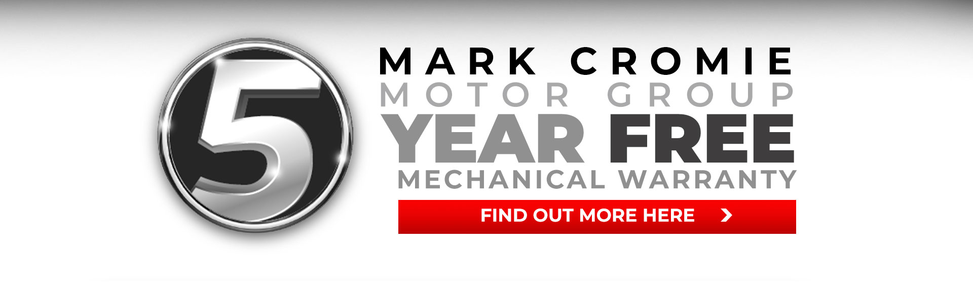 5 year free mechanical warranty